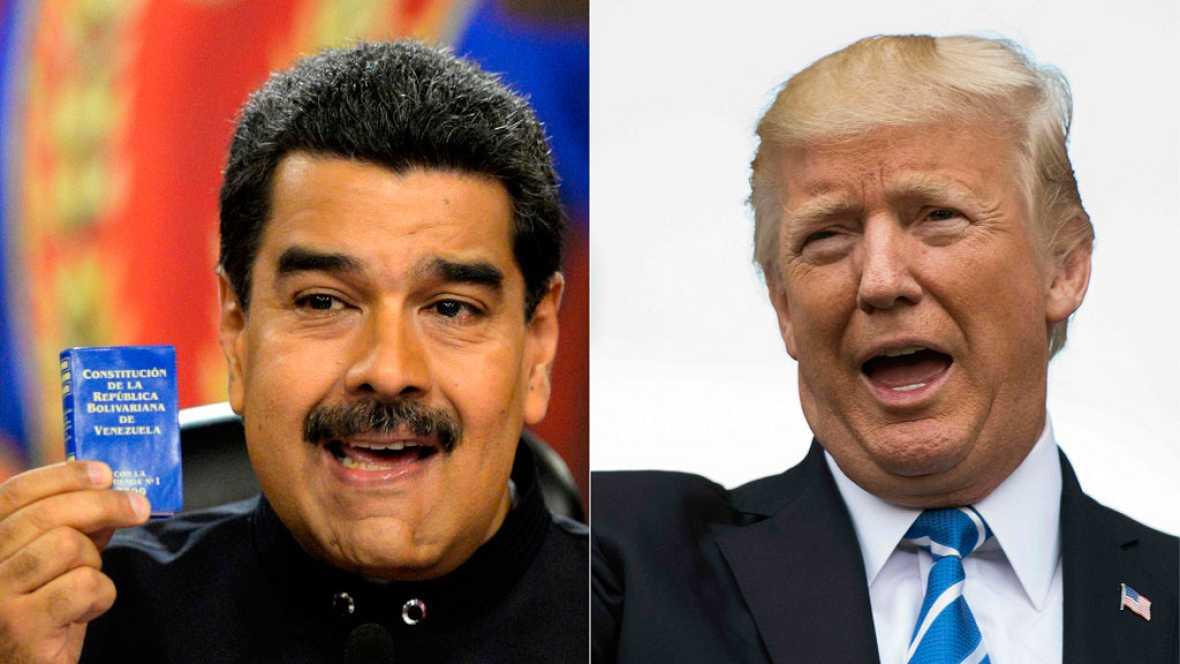 """Trump: """"Tenemos muchas opciones para Venezuela"""""""
