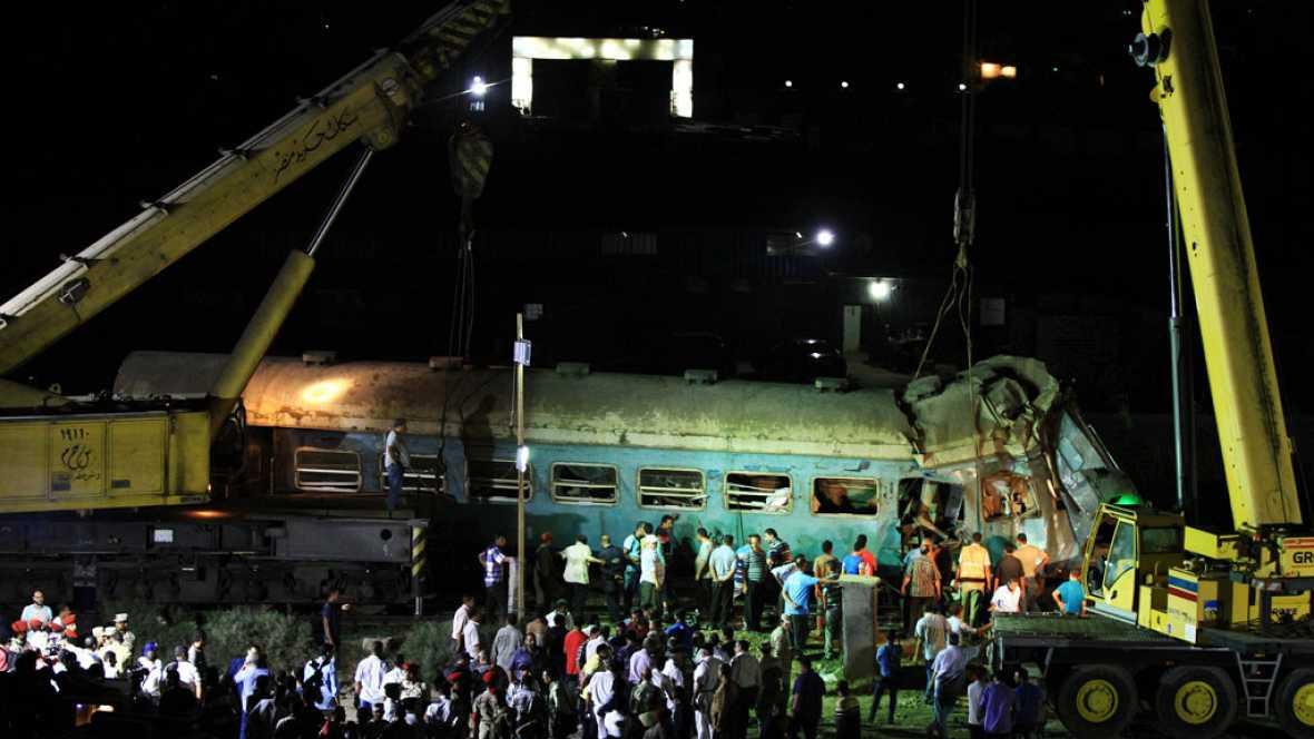 43 muertos en el accidente ferroviario de Egipto