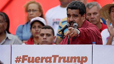 Maduro responde a la advertencia de Trump y ordena maniobras militares