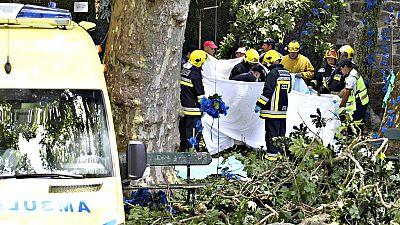 Tragedia durante una romería en Madeira