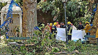 Al menos 13 muertos en Madeira al caer un árbol en plena romería