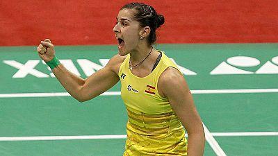 """Carolina Marín: """"Quiero ser la mejor jugadora de la historia"""""""