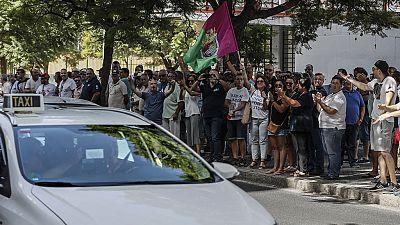 Los taxistas de Málaga decidirán si desconvocan la huelga tras analizar las propuestas de la Junta