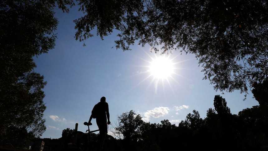 Los termómetros subirán, y se esperan valores  altos en el sur