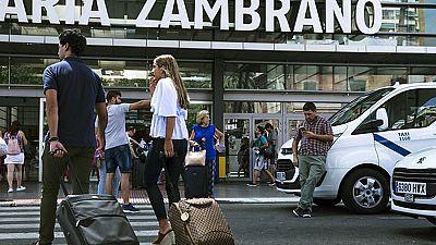 Los taxistas de Málaga vuelven al trabajo tras cuatro días de huelga