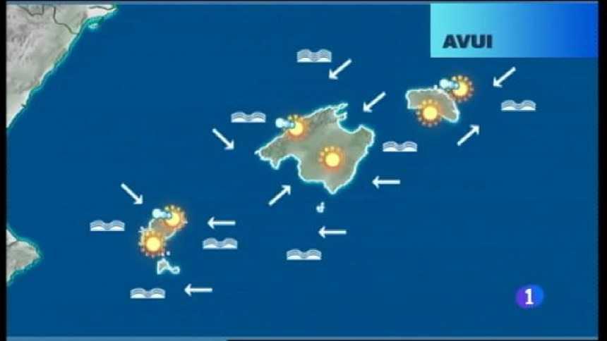 El temps a les Illes Balears - 17/08/17