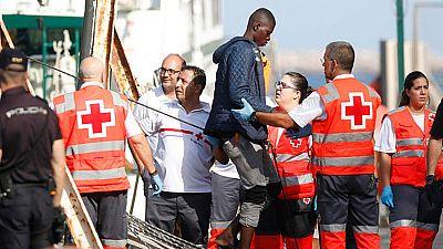 Casi 650 inmigrantes han sido rescatados en las últimas horas en las costas andaluzas