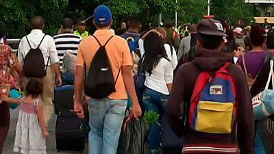 El puente de San Antonio del Táchira, vía de escape para los venezolanos