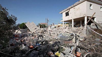 Explosión en una casa en Alcanar, en Tarragona