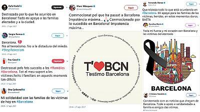 El atentado terrorista que ha tenido lugar durante la tarde de  este jueves en Barcelona, donde una furgoneta ha atropellado  violentamente y de forma indiscriminada a un grupo numeroso de  personas en Las Ramblas, ha ocasionado que el deporte españo
