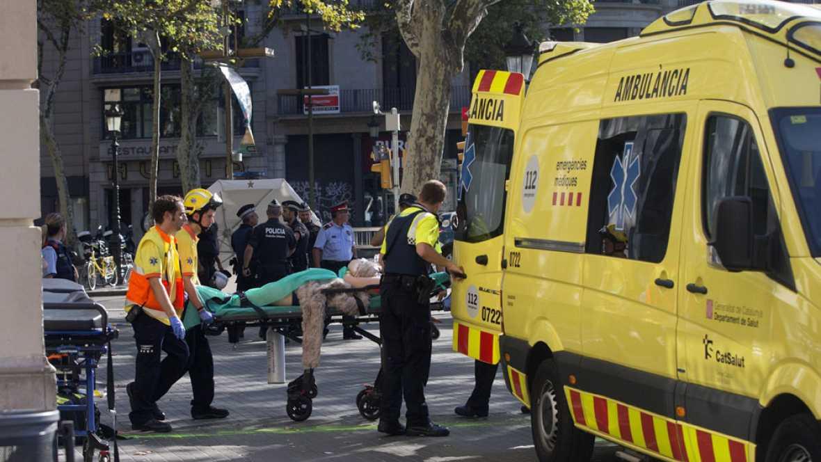Los testigos del atentado en Barcelona describen cómo fue el ataque