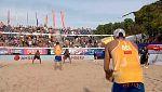 Voley Playa - Campeonato de Europa. 1/4 Final Masculinos: Italia - Bélgica