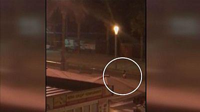 Nuevas imágenes del tiroteo del jueves por la noche en Cambrils