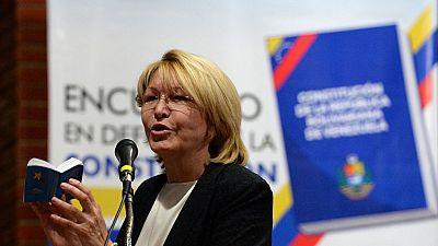 La exfiscal general de Venezuela se refugia en Colombia