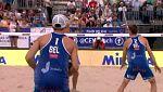 Voley Playa - Campeonato de Europa. 1ª Semifinal Masculina: Letonia - Bélgica