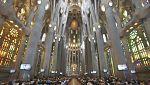 Misa por la Paz desde la basílica de la Sagrada Familia de Barcelona - 20/08/17