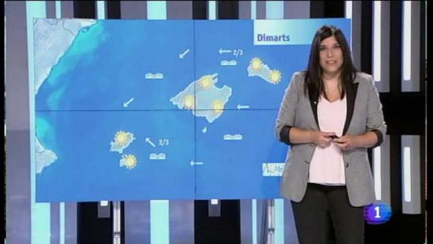 El temps a les Illes Balears - 21/08/17