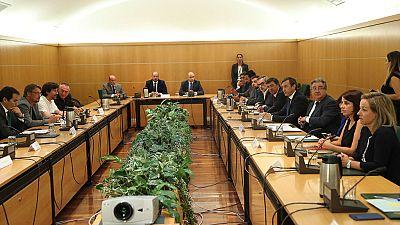Reunión de la comisión de seguimiento del pacto antiterrorista