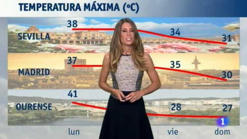 El Tiempo en Extremadura - 21/08/17