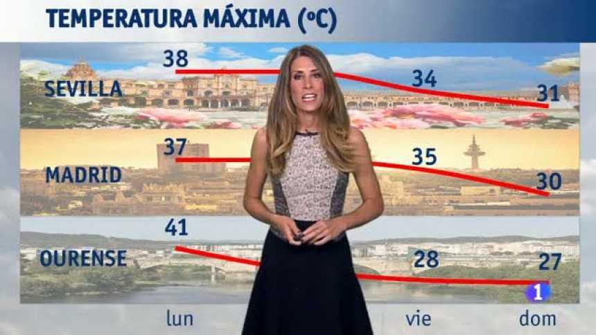 El tiempo en Andalucía - 21/08/2017