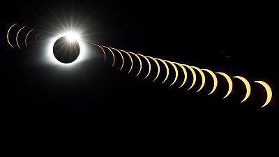El eclipse más visto y fotografiado de la historia