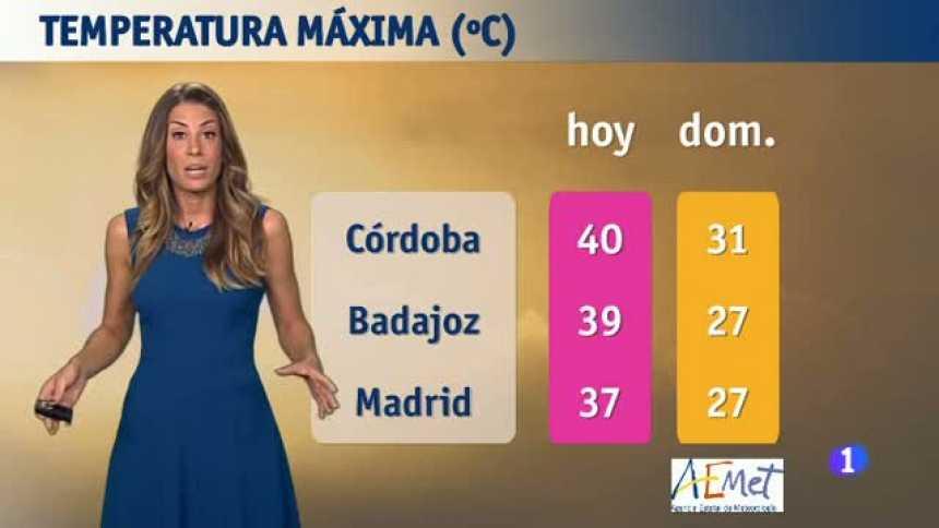 El tiempo en  Andalucía - 22/08/2017