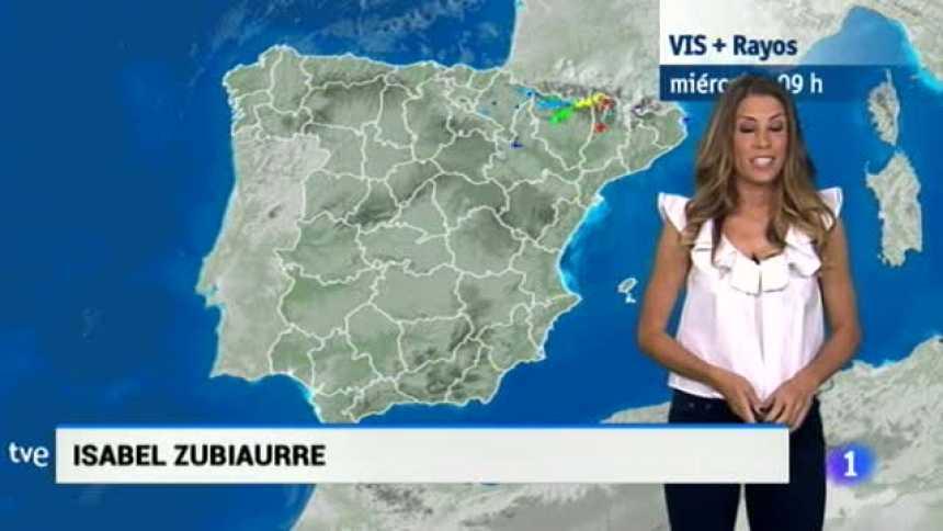 El tiempo en Extremadura - 23/08/17