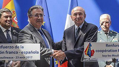 Los ministros de Interior de España y Francia aseguran que se extremará la coordinación europea