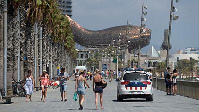 Barcelona aumentará los controles policiales y las barreras móviles en la ciudad