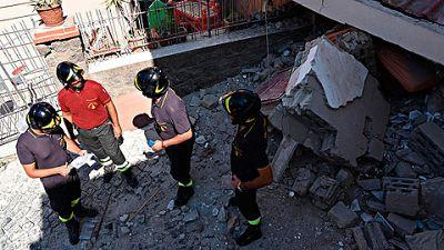 Indignación en Italia entre expertos y vecinos por el terremoto del pasado lunes en la isla de Ischia