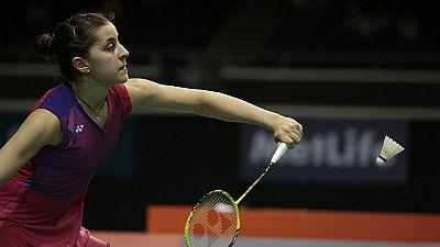 Carolina Marín arrolla a Yip Piu Yin en su debut en el Mundial de Glasgow
