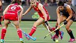 Hockey Hierba - Campeonato de Europa Femenino. 2ª Semifinal: Holanda-Inglaterra
