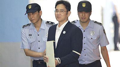 El heredero de Samsung, Lee Jae-Yong, condenado a cinco años de prisión por corrupción