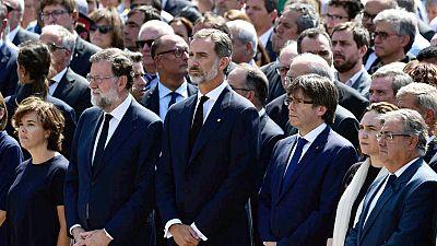 El rey asistirá a la manifestación del sábado en Barcelona