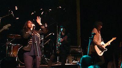 The Funkles, son un grupo tributo de los Beatles que versionan sus canciones en gallego