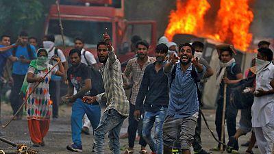 Disturbios en la India por la condena de un guró por violación