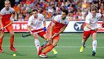 Hockey Hierba - Campeonato de Europa Masculino. 2ª Semifinal: Holanda - Inglaterra