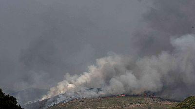 El incendio en la Sierra de la Cabrera está ya estabilizado