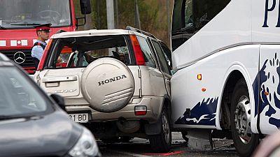 Cinco muertos en Salou tras chocar frontalmente su vehículo con un autobús