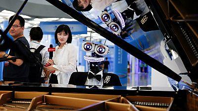 China celebra una de las exposiciones de robots más importantes del mundo