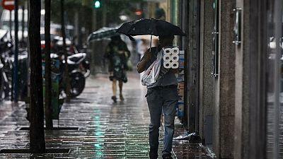 Media Península en alerta por lluvia, tormentas y granizo