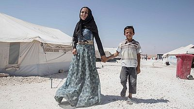 Miles de menores sirios continúan sometidos al desplazamiento forzoso por la guerra en Raqqa y Deir ez-Zor