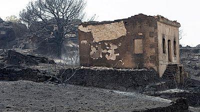 Controlado el incendio de Fermoselle, en Zamora
