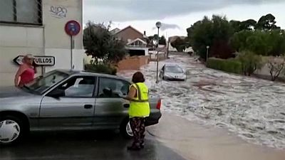 Las intensas lluvias dejan inundaciones y carreteras cortadas en Castilla-La Mancha y Extremadura