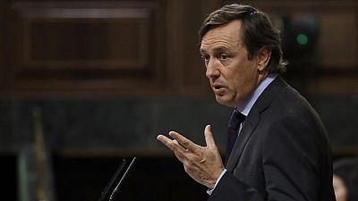 """Hernando defiende a Rajoy: """"¿Por qué le piden al PP lo que no se le pide a otros?"""""""