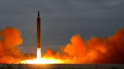 Corea del Norte amenaza con nuevos lanzamientos de misiles sobre el Pacífico
