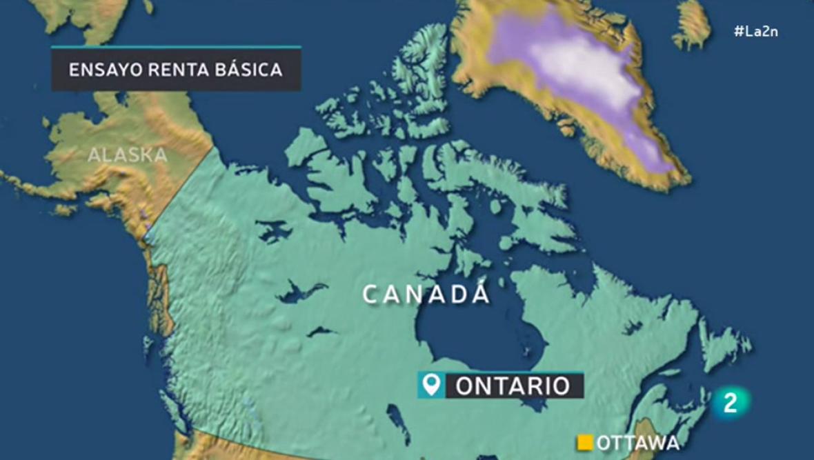 Canadá ensaya en Ontario la renta básica