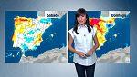 Precipitaciones en el área cantábrica, noreste de Cataluña y Canarias