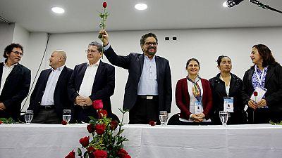 Las FARC se transforman en un partido político, la Fuerza Alternativa Revolucionaria del Común