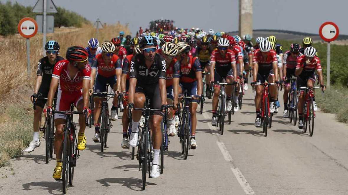 Vuelta Ciclista a España 2017 - 14ª etapa: Ecija - Sierra de la Pandera (1) - ver ahora